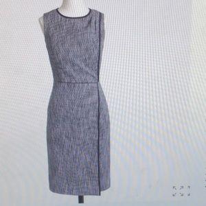 J Crew suiting A-line tweed dress